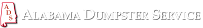 Alabama Dumpster