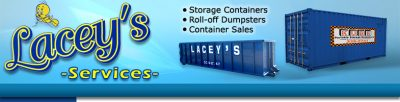 Lacey's Roll-Off Dumpster Services